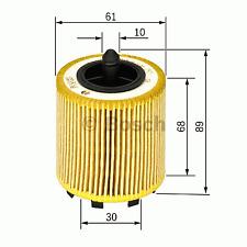 Ölfilter - Bosch F 026 407 016