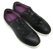 Ecco Women Sense Toggle Fashion Sneaker Black, Size 9 (US), 40 (Eur), Brand New
