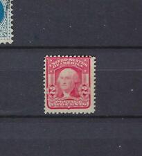 ETATS-UNIS USA Yv&T n° 158 neuf sans gomme ungummed 2c carmin G Washington 1903