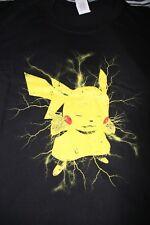 Pokemon Pikachu Japonés Anime Manga 21 in (approx. 53.34 cm) Camiseta grandes Gildan pecho