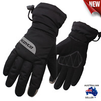 Motorcycle Touch Screen Waterproof Gloves Motorbike Winter Thermal Ski Snow MC32