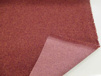 "Red Colour ""Tweedy Blend"" Heavy Upholstery Fabric. By NEXT"