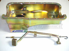 Canton Mustang 5.0 302 7 Quart Deep Rear Sump Oil Pan 3 pcs Kit SBF Qt. 15-620S