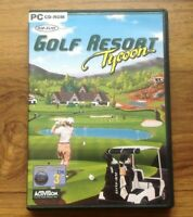 Top Flite Golf Resort Tycoon - PC CD-ROM. Free UK Postage