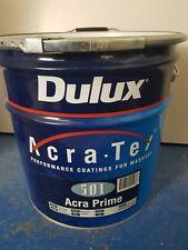 2 x 15ltr Dulux Acra-tex 501 Acra-prime SB Primer New