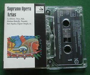 Soprano Opera Arias La Boheme Tosca Aida Turandot + Cassette Tape - TESTED