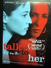 """Talk To Her 2002 Pedro Almodovar Japan B5 Chirashi 7""""X10"""" Poster"""
