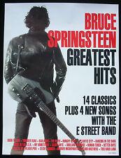 Bruce Springsteen Greatest Hits 14 Classics 1995 Uk Poster Mint- Original!