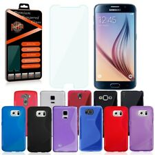 Hülle Schutzglas Smartphone Handy Glasfolie Schutz Tasche Case Cover Panzerfolie