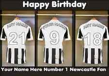 A5 Personalised Newcastle Football Dressing Room Greeting Birthday Card PID055