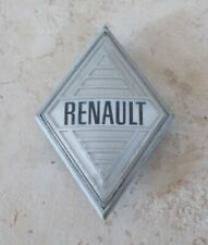 RENAULT France insigne mascotte emblème plaque badge voiture auto 1960s