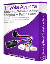 Toyota Avanza radio stereo adapter lead, Connect your Steering Wheel controls