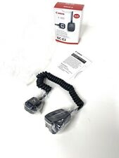 100% Genuine NEW Canon SLR Off Camera Shoe Cord OC-E3 New In Box