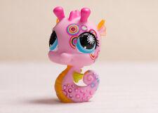 Littlest Pet Shop LPS #1011 postcard pet seahorse Sea Horse
