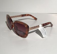 Fashion Nine West Womens Elegant Sunglasses Model Cat Eye NWT Rose Gold