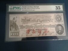 State of North Carolina  1863  $5