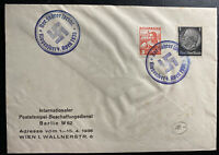 1938 Klegenfurt Austria Germany Commercial Mixed Franking Cover