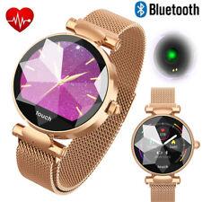 Chic Bluetooth Smart Watch Bracelet Heart Rate Sleeping Monitor for Women Girls