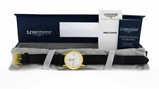 Longines La Grande Classique Presence 30mm Gold Tone Steel Quartz Watch L4.720.2