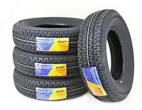 4 Premium FREE COUNTRY Trailer Tires ST205 75R14 /8PR Load Range D w/Scuff Guard