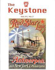 Keystone PRR V44 N2 2011 Navy Red Star Line Snow Shoe Branch Paoli Altoona