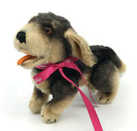 Steiff Beppo Dachshund Dog Jointed Mohair Plush 17cm 7in 1950s no ID Vintage