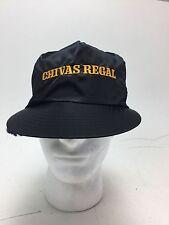 Rare Black Shiny Chivas Regal 12 Scotch Hat Cap SnapBack Fast Free Shipping