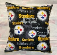 Steelers Pillow Pittsburgh Steelers Pillow NFL Pillow HANDMADE USA 2020 Design