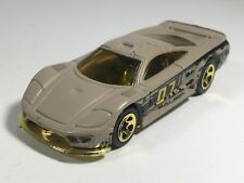 Hot Wheels 2007 Saleen S7 Flat Gray-Tan Gold Tint HW Camouflage 5-Pack Loose #3