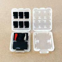 8 Slots Plastic Hard Micro SD SDHC TF MS Memory Card Storage Box_selling Fa O2B8