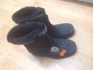 Men's Ground Work Size 8 Snow Boots New Shop Clearance