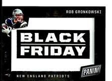 2017 Panini Black Friday Patch Rob Gronkowski SSP D # 05/10 New England Patriots