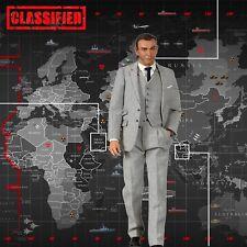 """1/6 James Bond 007 Diorama 15""""x15"""" for IKEA Detolf - Sideshow Or Big Chief"""