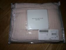 "Kassatex Lafayette Dusty Rose King Pillow Sham 20"" x 36"""