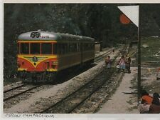 1984  --  TRAIN EN GARE DE PAMPACAHUA AU PEROU   3F206