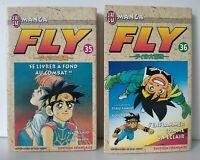 Manga FLY Tomes 35 & 36 - RIKU SANJO / KOJI INADA - J'AI LU -Français -Bon état