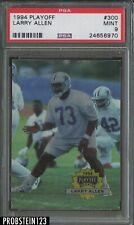 1994 Playoff #300 Larry Allen Dallas Cowboys RC Rookie PSA 9 MINT