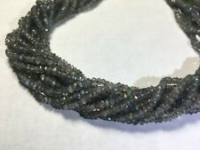 AAA LABRADORITE Faceted Beads Round 3.5mm blue green flash WHOLESALE PRICE!!!!