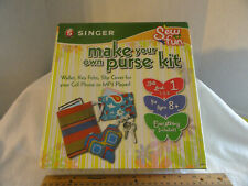 Singer Make Your Own Purse Kit Ages 8+ Skill Level 1