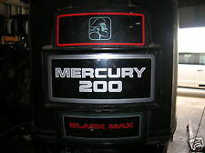 MERCURY  200 HP OUTBOARD MOTOR 25""