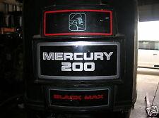 """MERCURY  200 HP OUTBOARD MOTOR 25"""""""