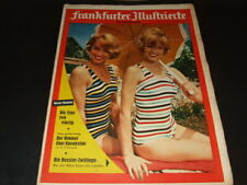 "Alice & Ellen Kessler … on cover … ""Frankfurter Illustrierte"" … 1959"