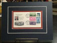 """Trump 2017 Official Inauguration Cover Dated1/20/17, with acid free 9""""x 12"""" mat."""