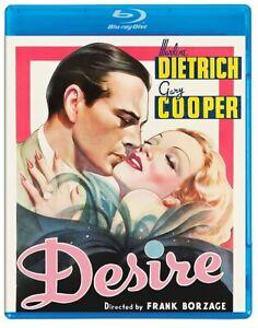 Desire (Marlene Dietrich Gary Cooper John Halliday William Frawley) Blu-ray