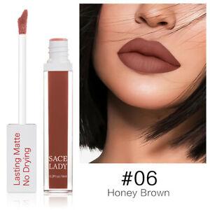 Long Lasting Lipstick Make Up Matte Liquid Non Drying Pigment Waterproof .