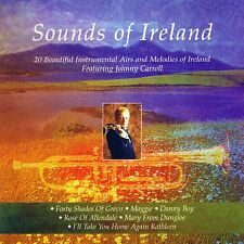 SOUNDS OF IRELAND 20 BEAUTIFULINSTRUMENTAL AIRS- JOHNNY CARROLL (TRUMPET)  - CD