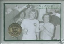 Norwich City (The Canaries) NCFC Vintage Promotion Retro Coin Fan Gift Set 1972