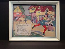 Vintage Anne Rochester Fairy Tale Print - Tom Tom The Piper's Son