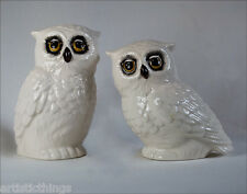 SPECIAL EDIE ROSE HOME OWL COLLECTION SALT AND PEPPER SHAKER