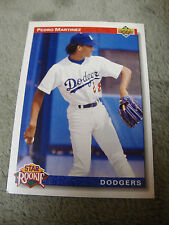 1992 Upper Deck Pedro Martinez Los Angeles Dodgers #18 Baseball Card